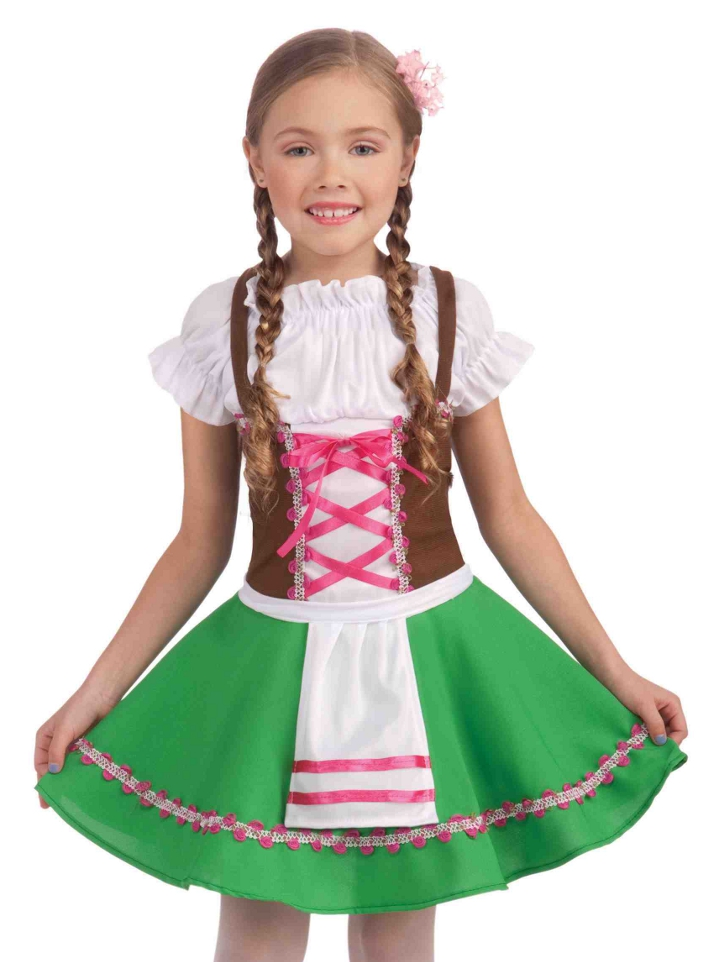 Kids Gretel German Oktoberfest Girls Halloween Costume | eBay