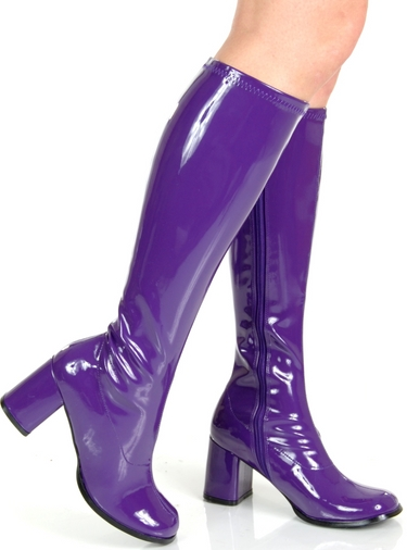 Pleaser NEW Purple GoGo 70s Disco Costume Boots at Sears.com
