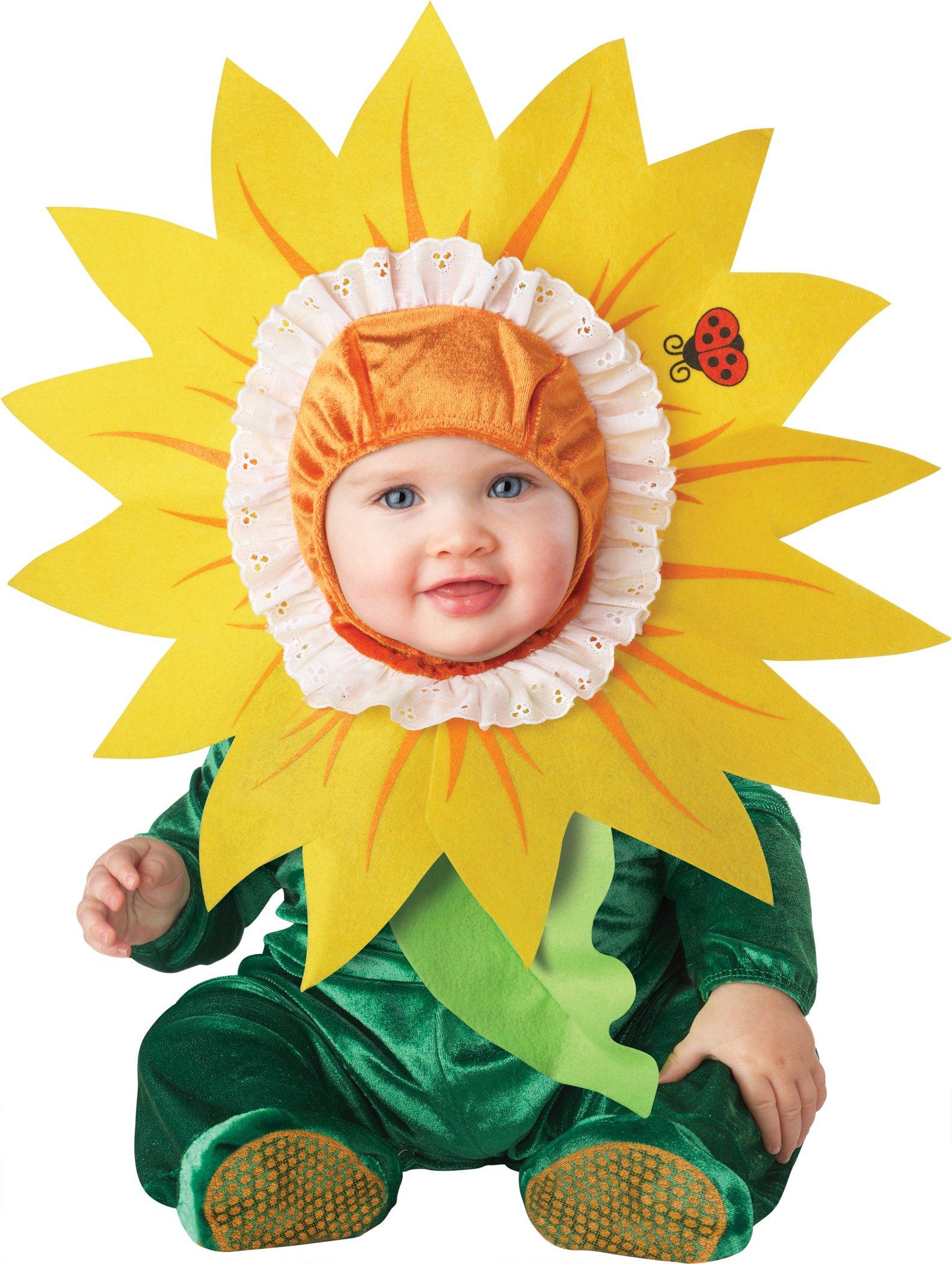 Infant Baby Girls Sunflower Flower Halloween Costume