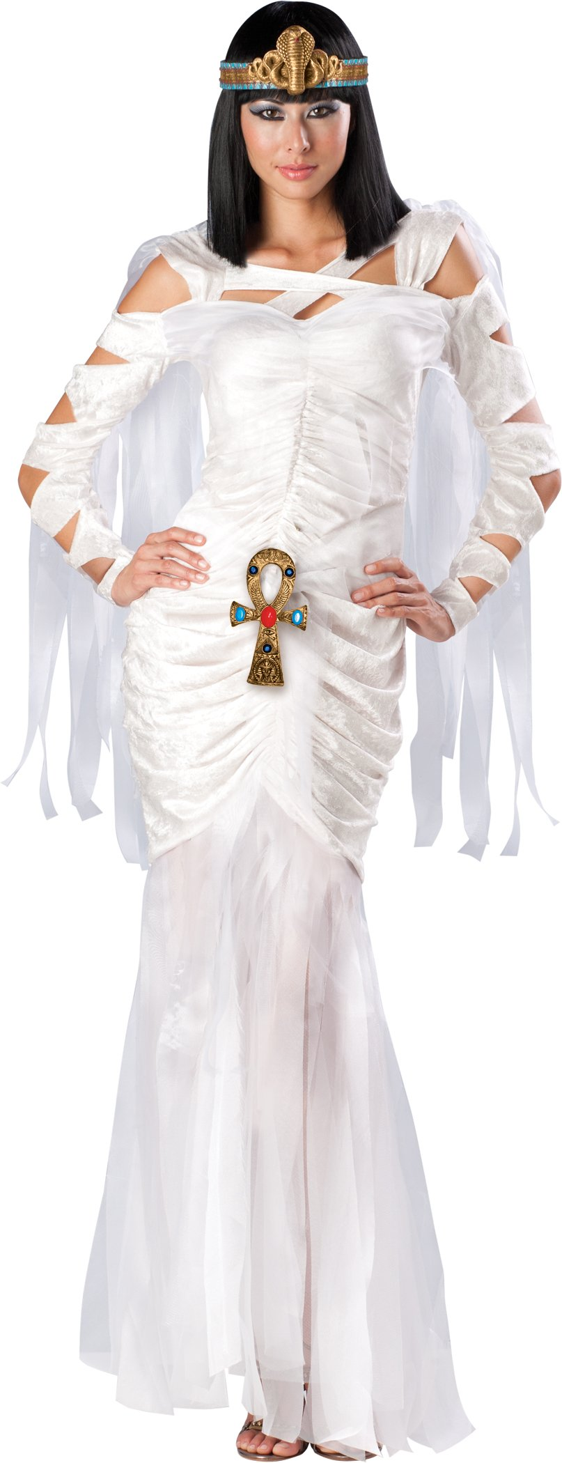 New Sexy Womens Egyptian Mummy Cleopatra Costume S Ebay