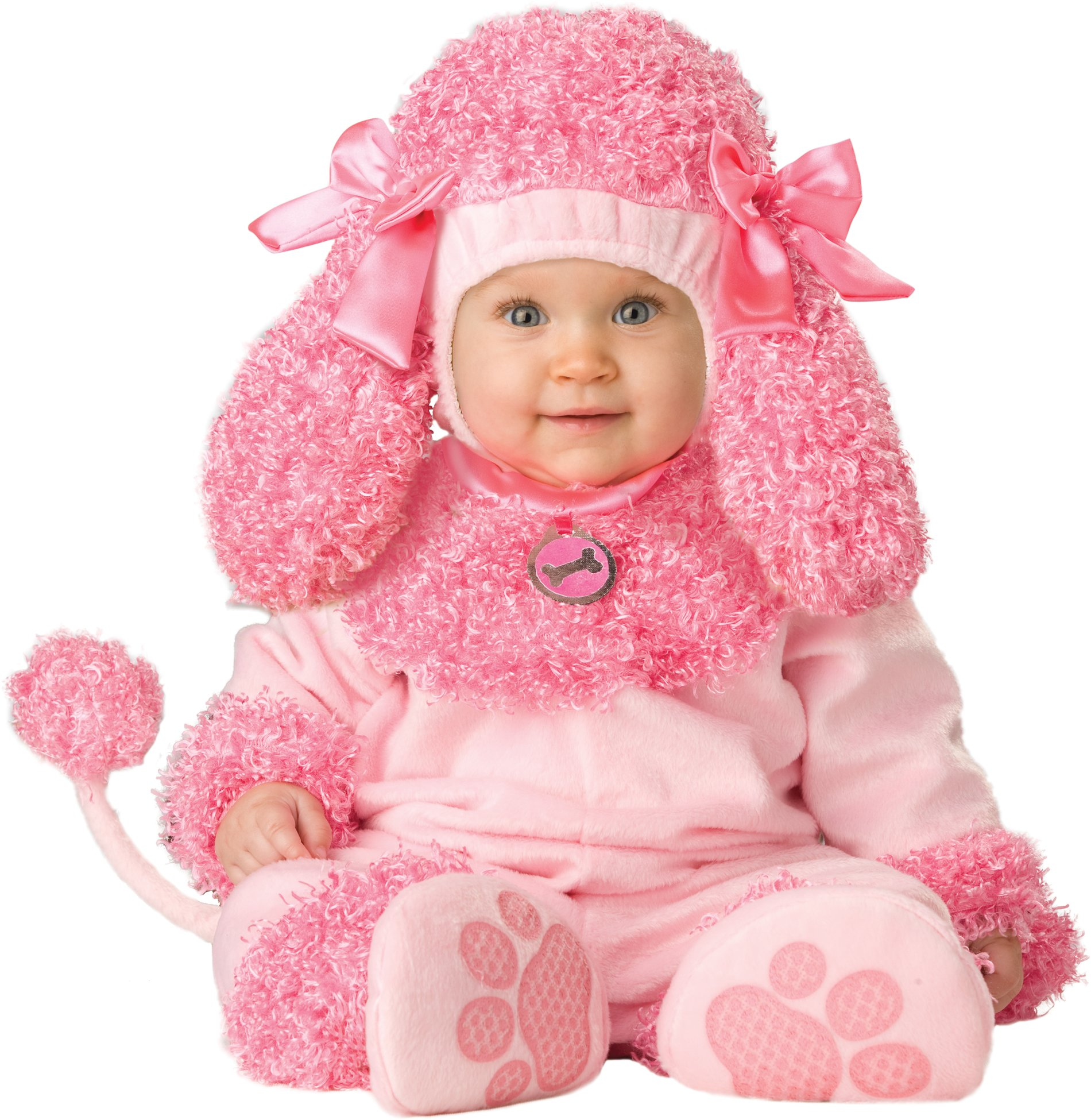 infant baby girls poodle puppy dog halloween costume ebay. Black Bedroom Furniture Sets. Home Design Ideas