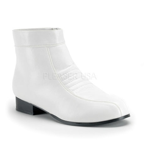 Pleaser Mens Stormtrooper Cosplay Pimp Disco White Ankle Boot at Sears.com