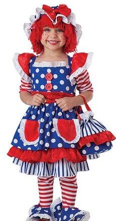 Princess Paradise Kids Girls Cute Raggedy Ann Rag Doll Halloween Costume at Sears.com