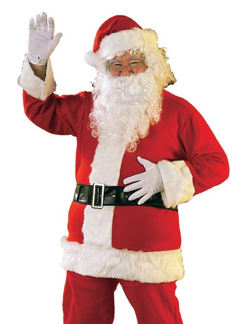 Rubie's Costume Co Adult Costume Santa Claus Suit Christmas Outfit at Sears.com