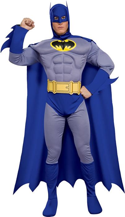 Mens Adult Deluxe Brave & Bold Batman Halloween