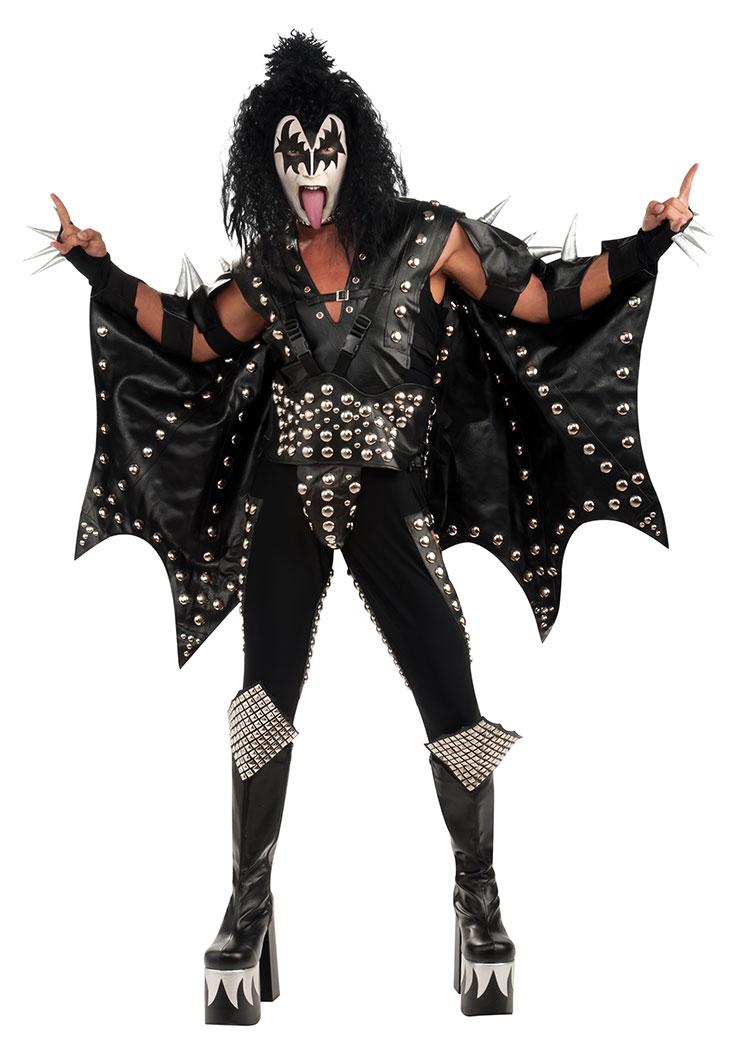kiss mask template - gene simmons kiss collectors edition the demon costume ebay