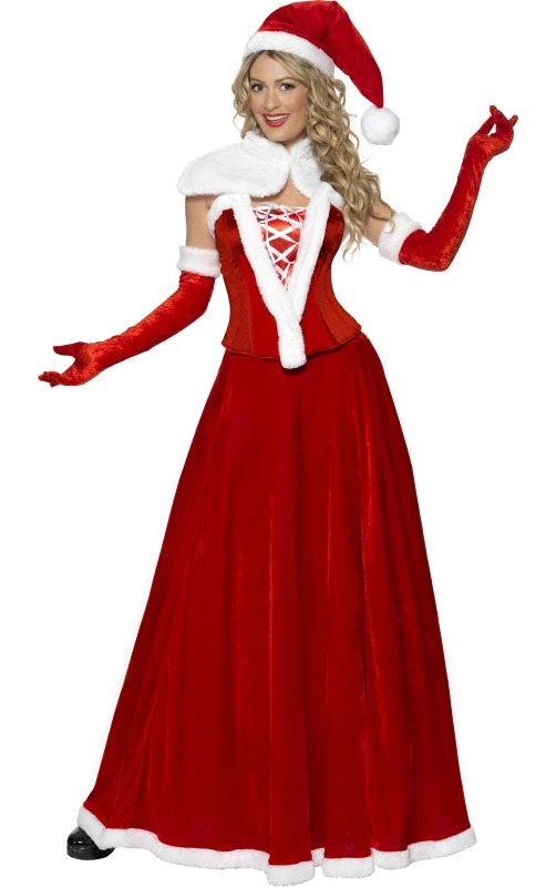 Smiffys Adult Mrs Santa Claus Dress Womens Christmas Costume at Sears.com