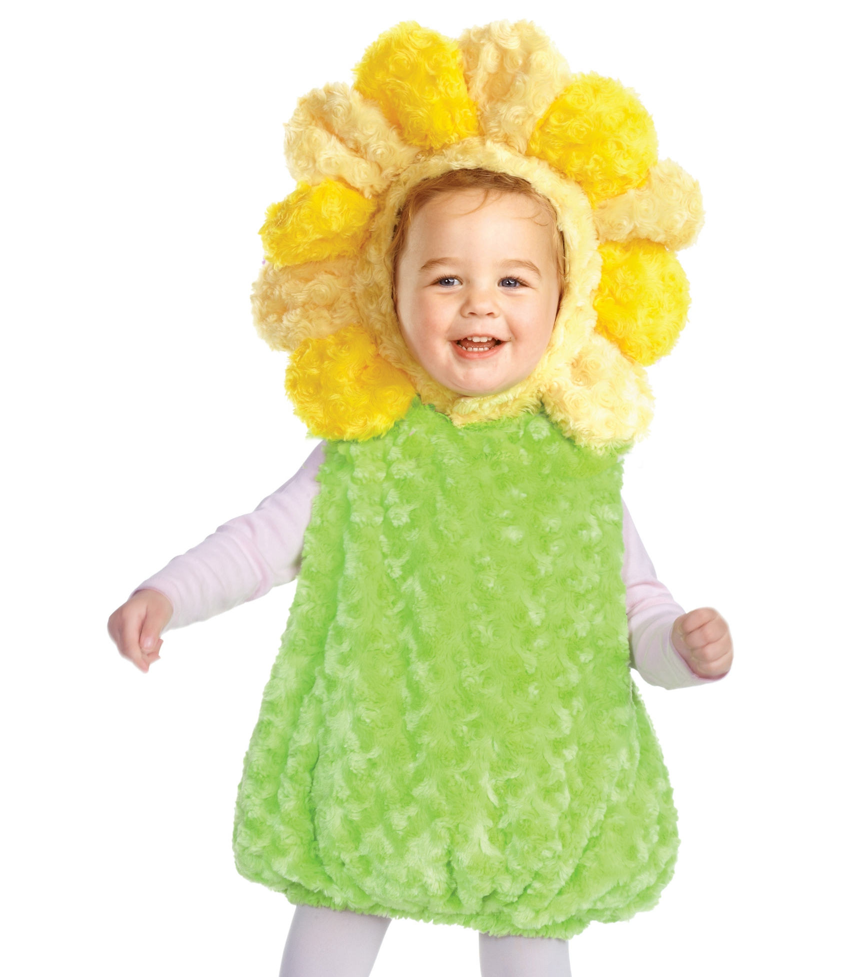Toddler Girls Sunflower Flower Halloween Fancy Dress Costume