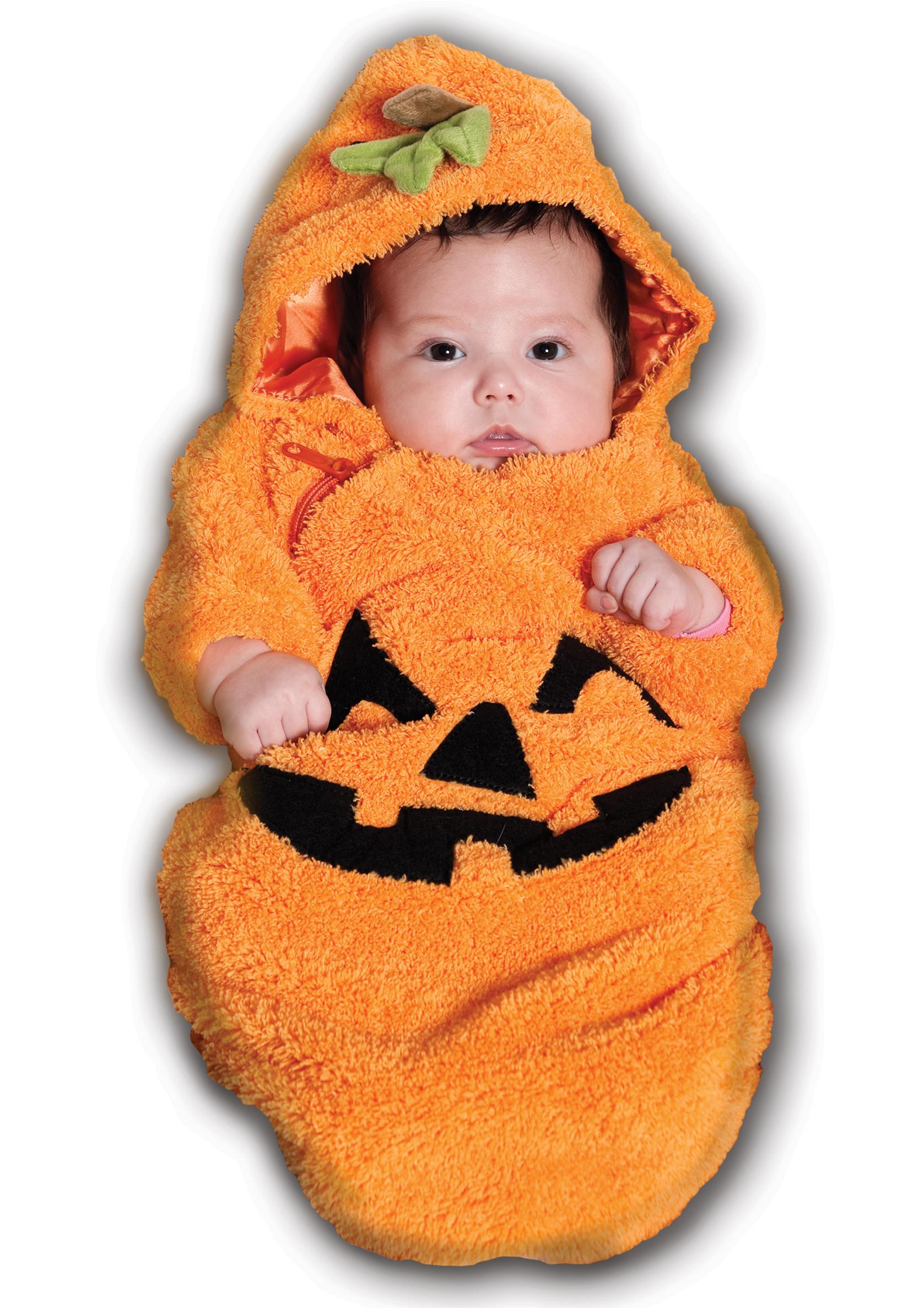 Infant Baby Boys Girls Pumpkin Halloween Costume 0 6 Months