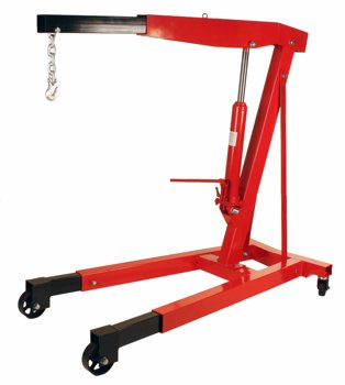 Dragway Tools 3 Ton (6000 LB) Engine Hoist Cherry Picker Shop Crane at Sears.com