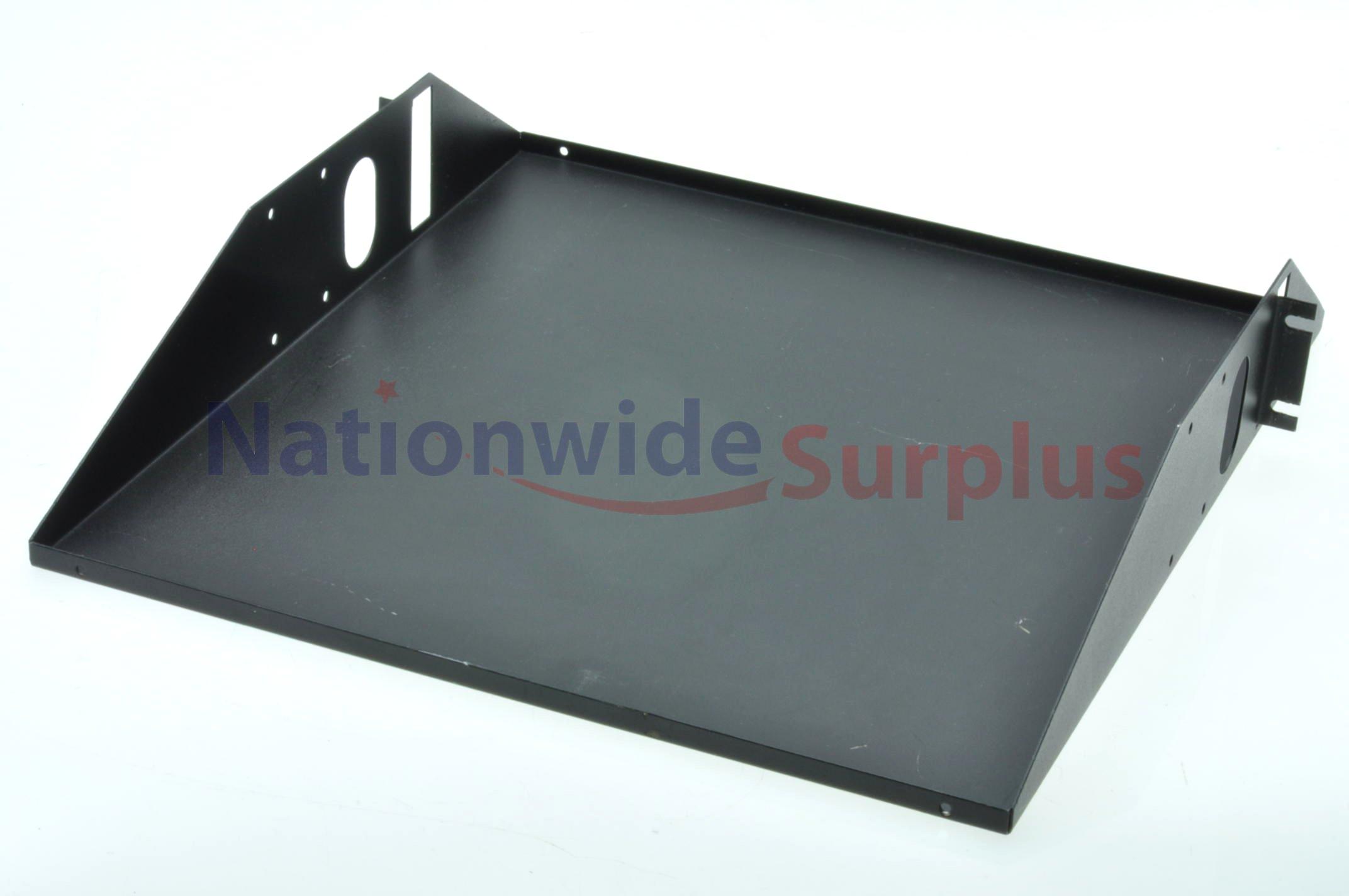 black 19 x19 x3 5 center mount server rack shelf with. Black Bedroom Furniture Sets. Home Design Ideas