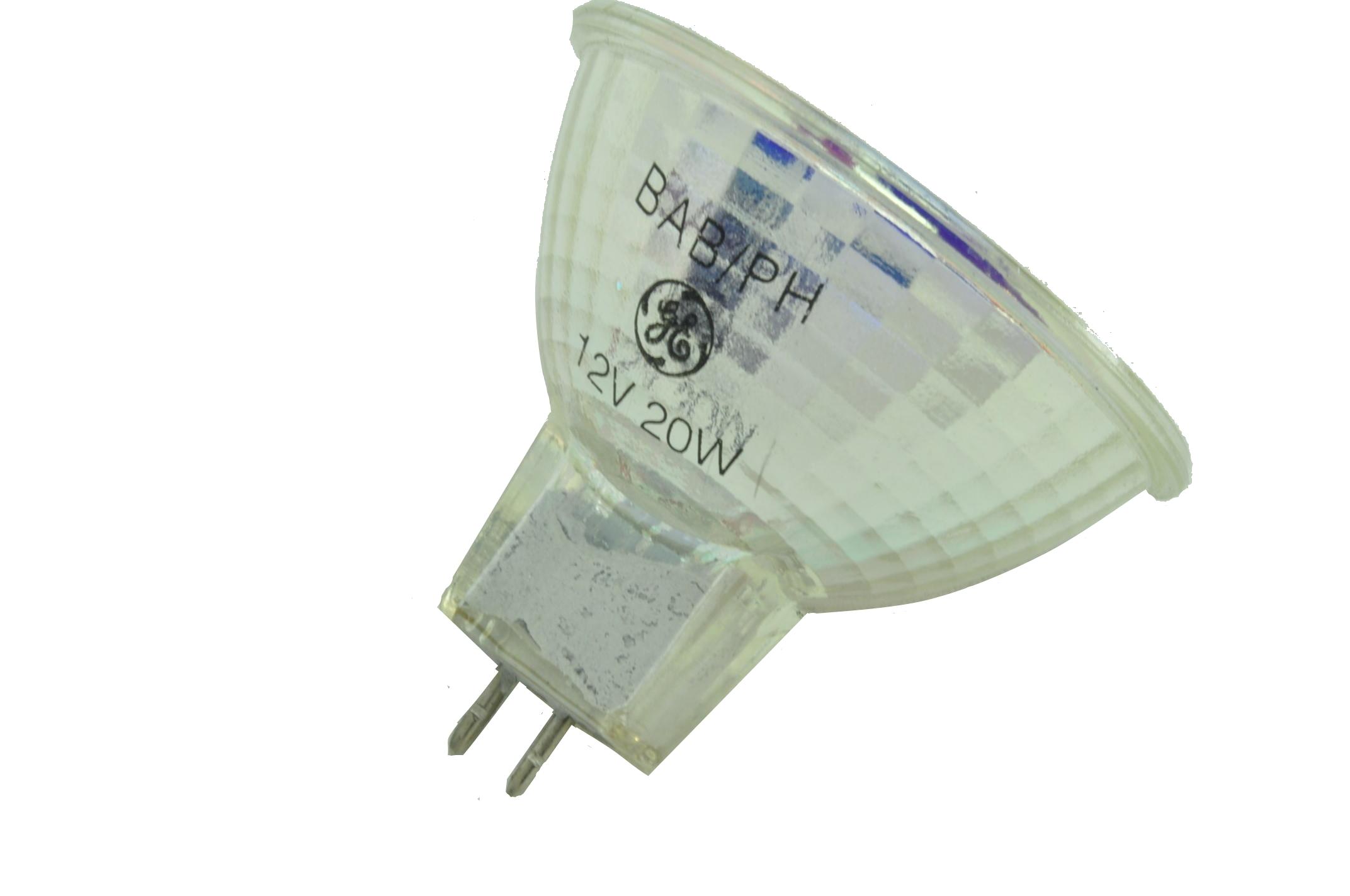 qty 10 ge 12v 20w halogen mr16 landscape light bulb bab ph made in usa ebay