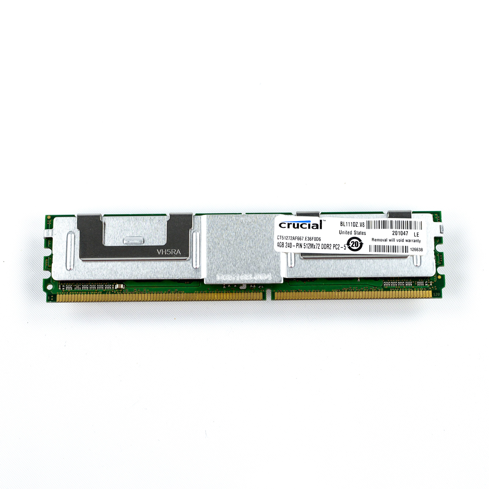Crucial-4GB-FB-DIMM-ECC-Memory-Module-Sticks-2Rx4-DDR2-PC2-5300-CT51272AF667