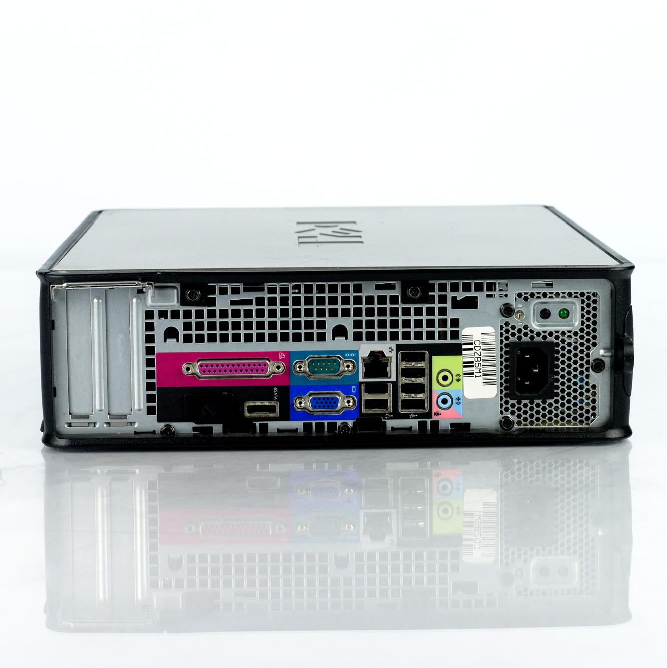 Dell Optiplex 780 SFF Core 2 Duo E8400 3.0GHz 4GB 250GB Win 10 Pro ...