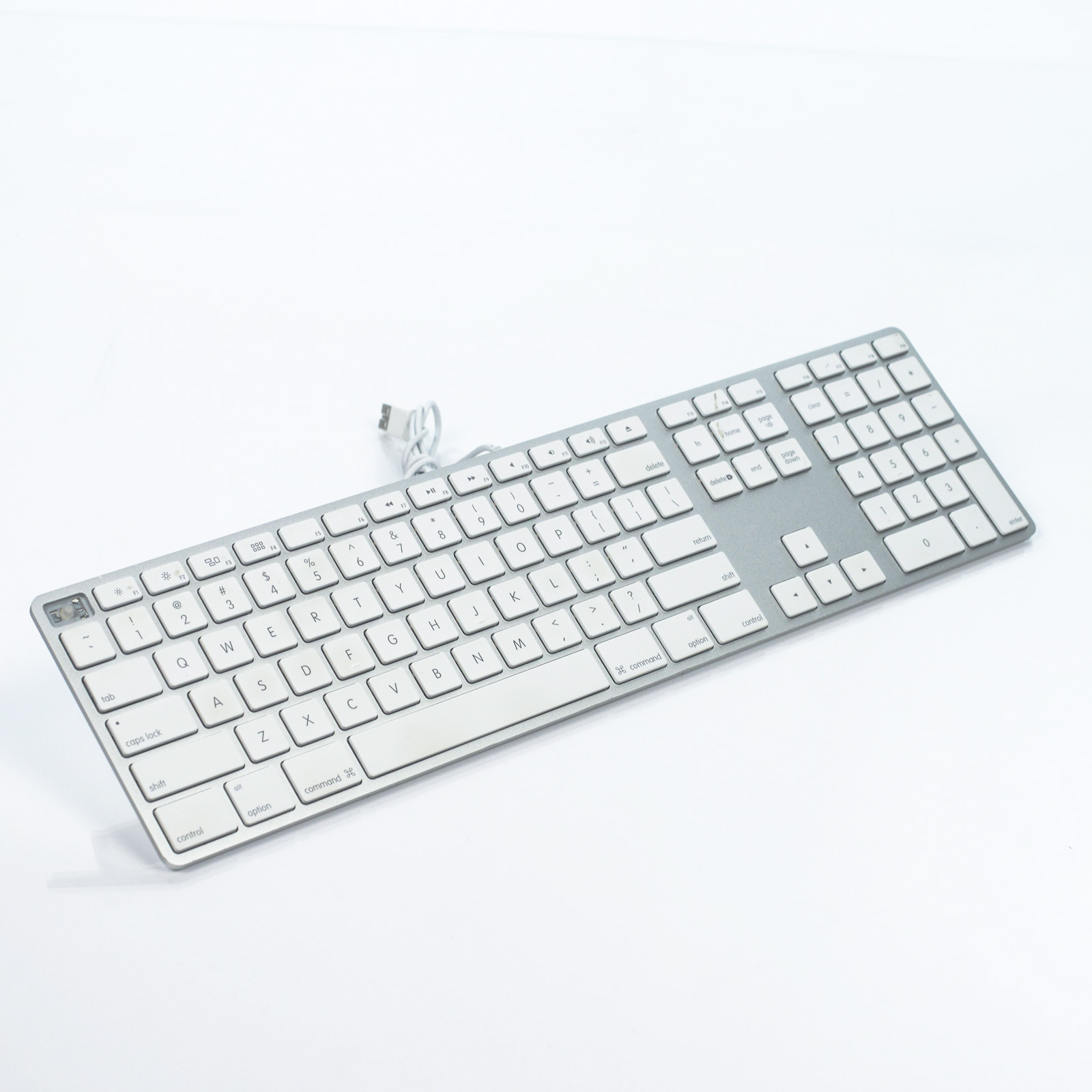 Lot of (3) Genuine Apple Aluminum Wired Keyboard A1243 for Parts Not ...