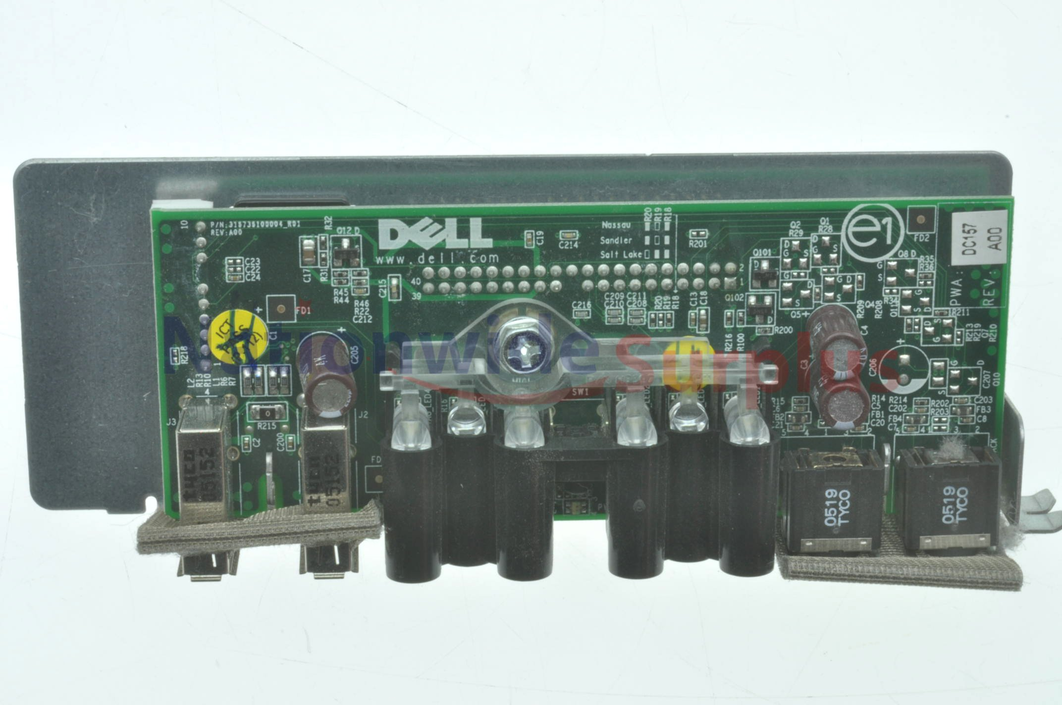 Dell Dimension 9100 9150 Xps 400 Power Switch Panel Button