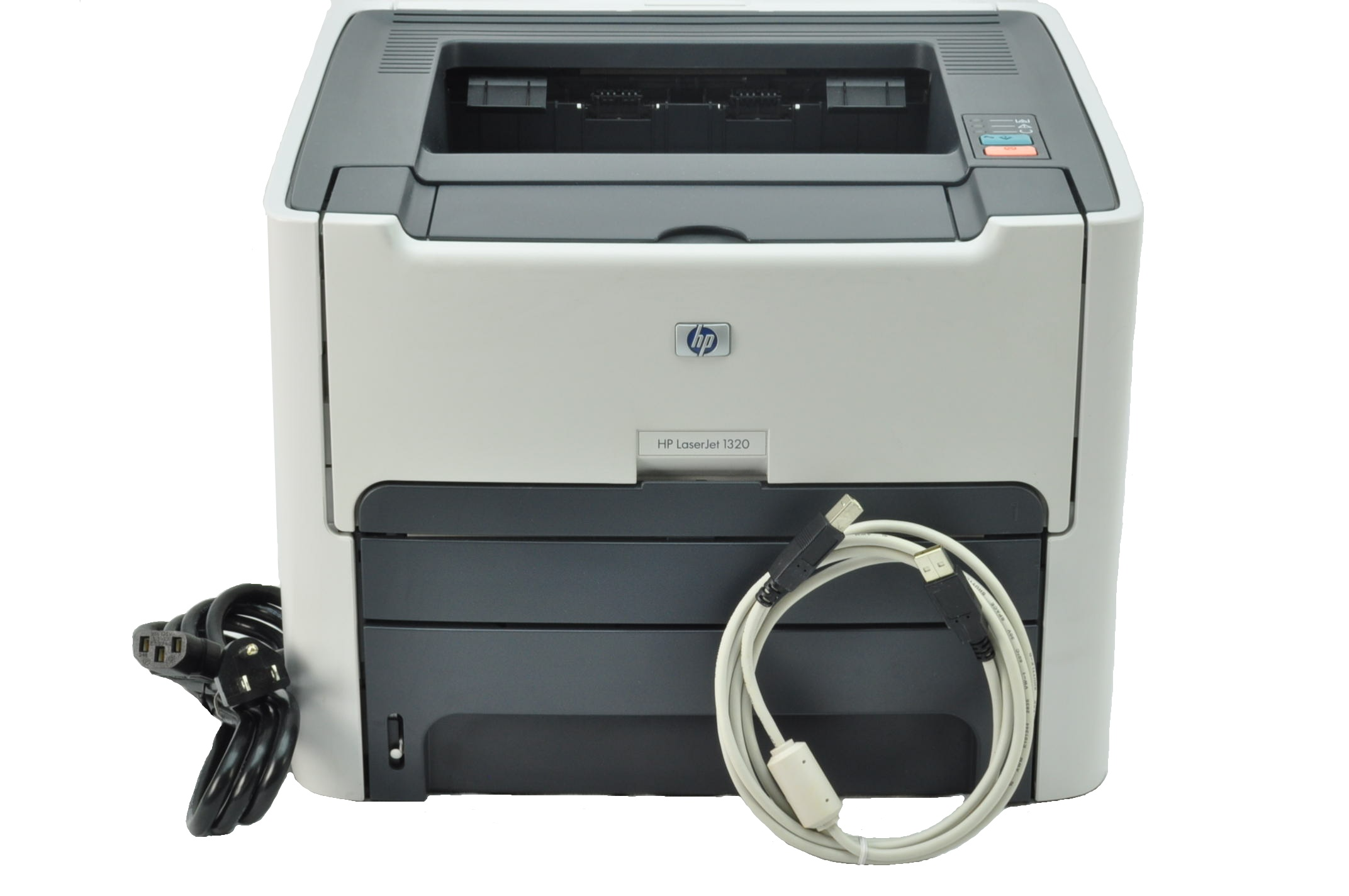 hp laserjet 1320 laser 22ppm printer w usb and pwr cable. Black Bedroom Furniture Sets. Home Design Ideas