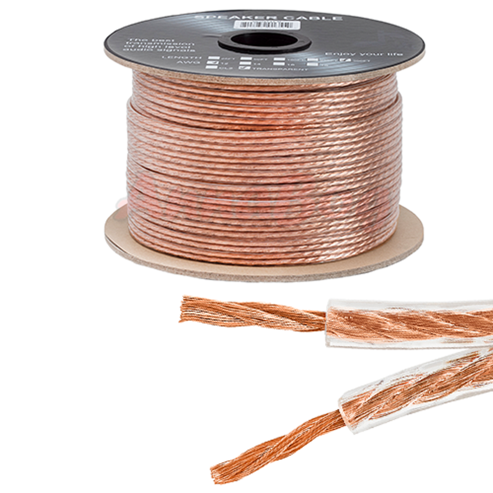 Speaker Wire Size : Ft feet true ga gauge awg speaker wire cable car