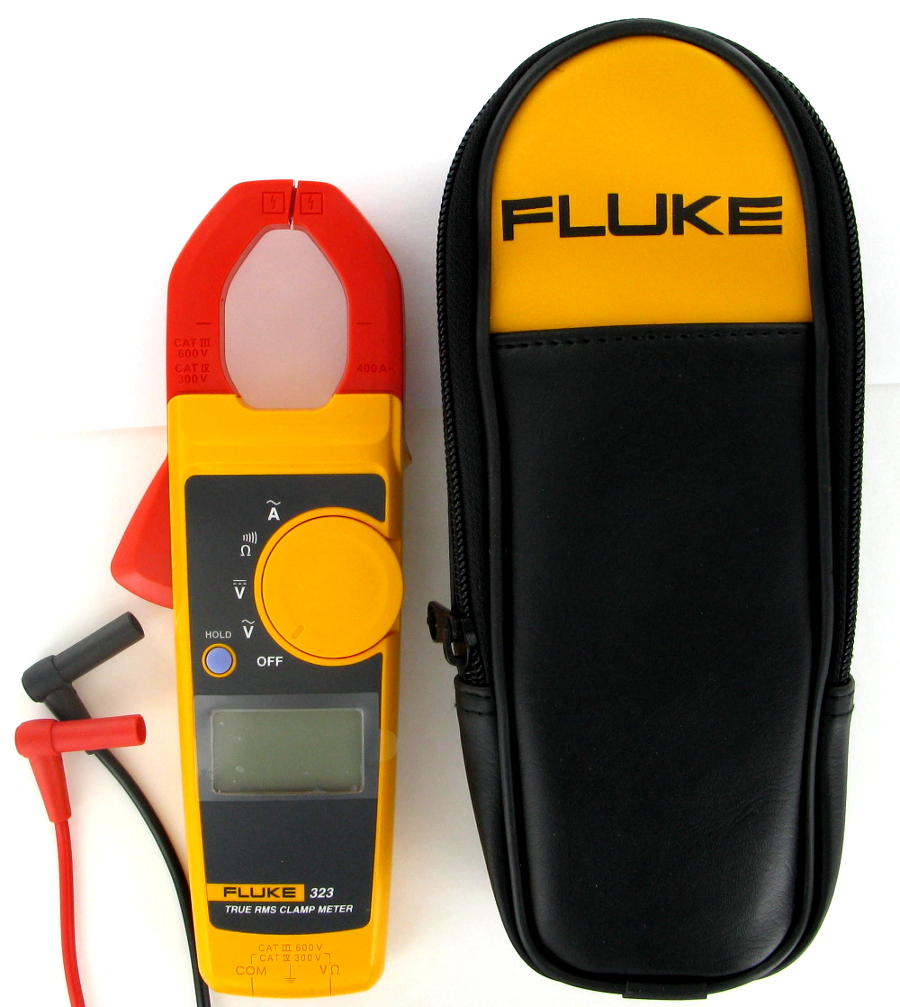 Fluke 323 Clamp Meter Fluke : New fluke true rms clamp meter ebay