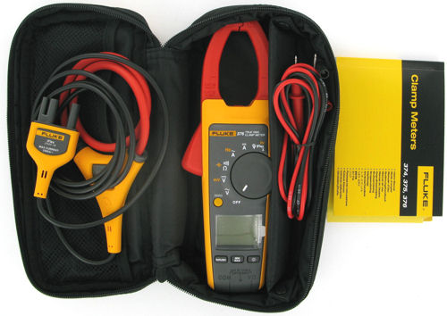 Image of Fluke 376 True-rms AC/DC Clamp Meter with iFlex™