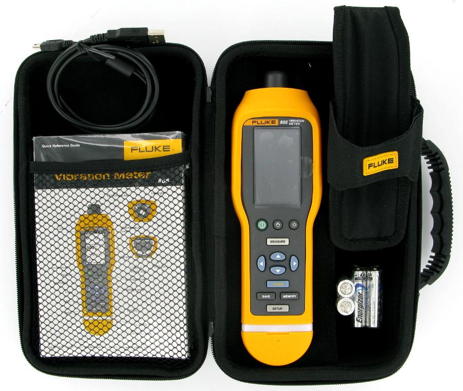 Image of New Fluke 805 Vibration Meter
