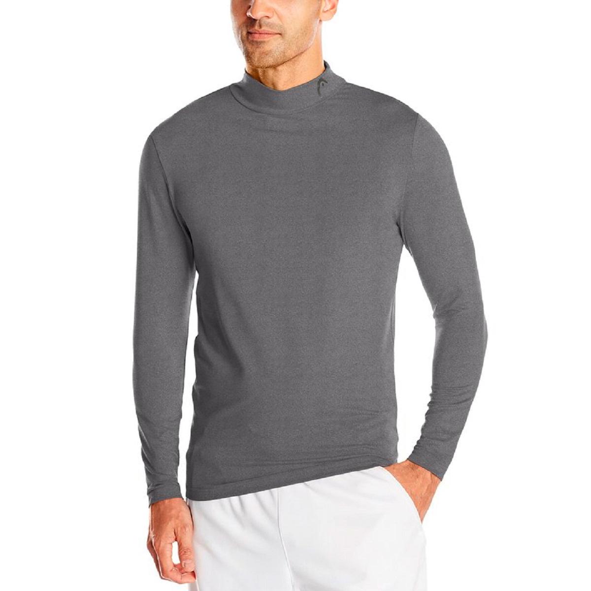 Head Men S Compression Shirt Base Layer Athletic Mock Neck