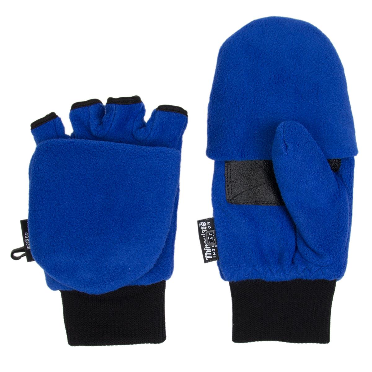 Fingerless driving gloves ebay - 3m Thinsulate Fleece Pop Top Convertible Fingerless Gloves