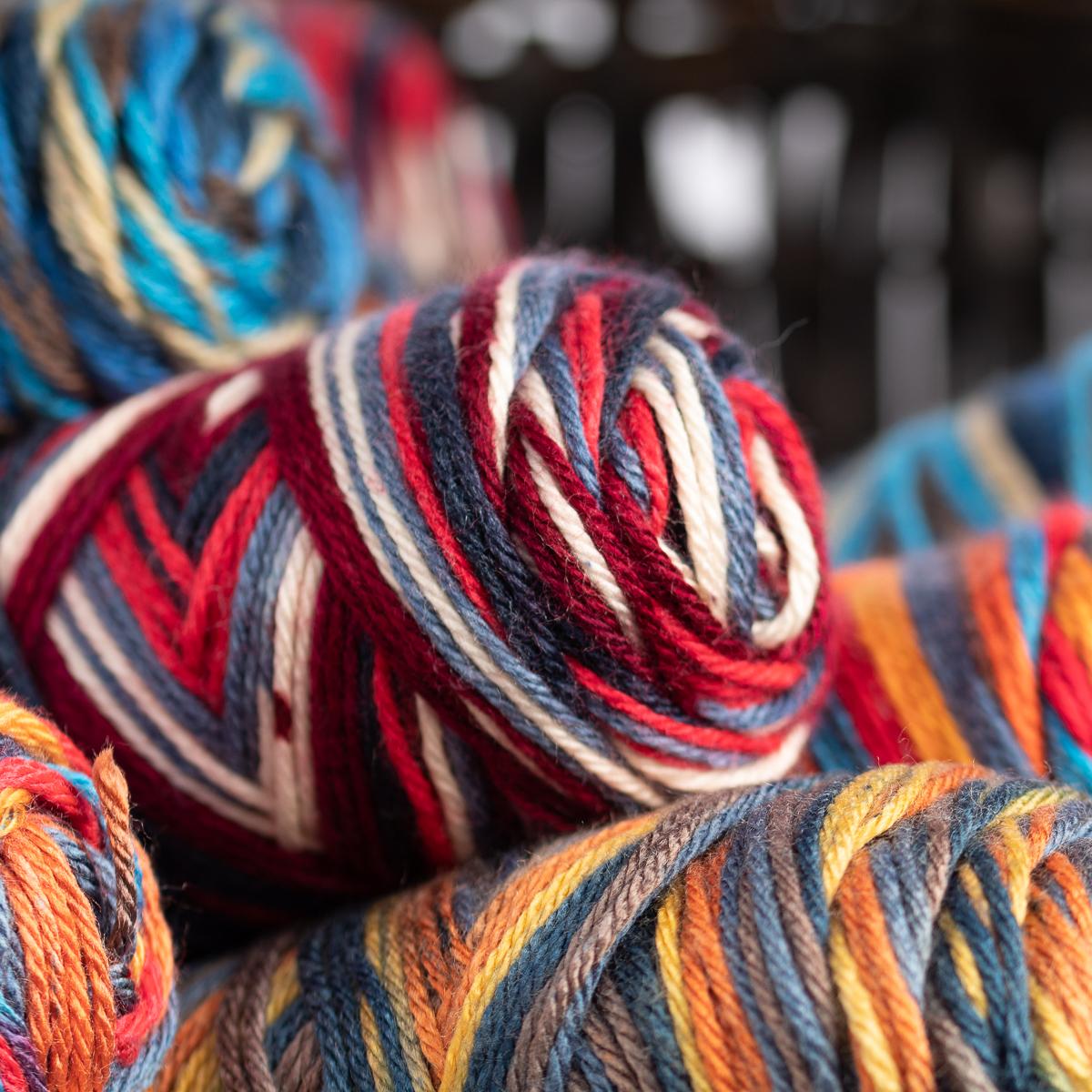 3pk Caron Simply Soft Stripes 100/% Acrylic Yarn Medium #4 Knit Crocheting Skeins
