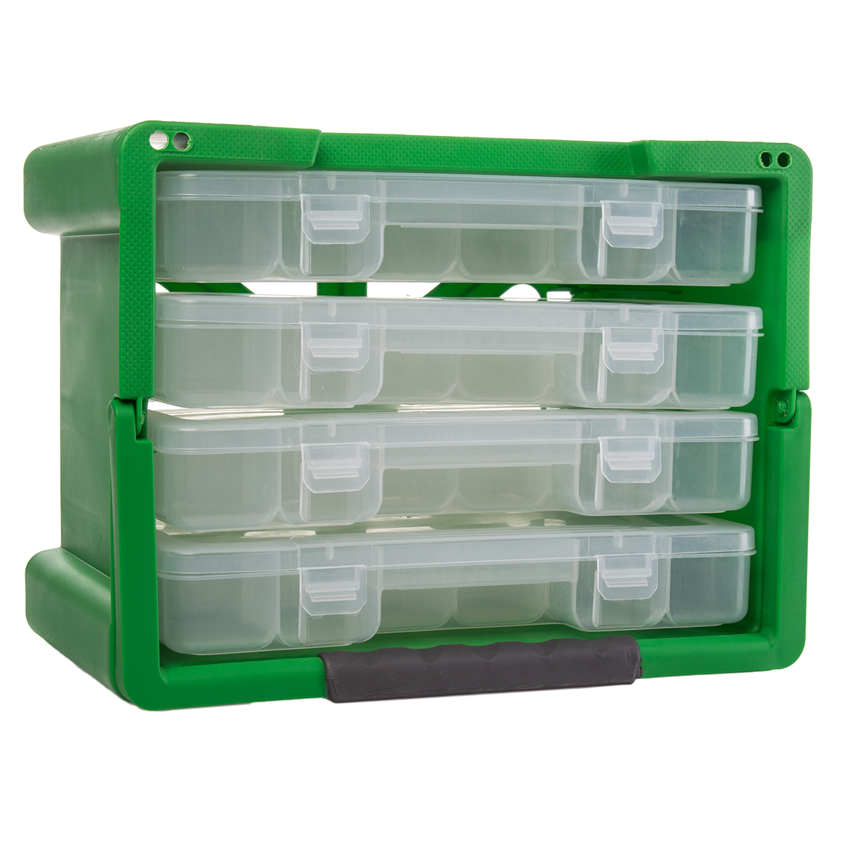 Keter 4 Drawer Organizer Case Portable Handled Plastic