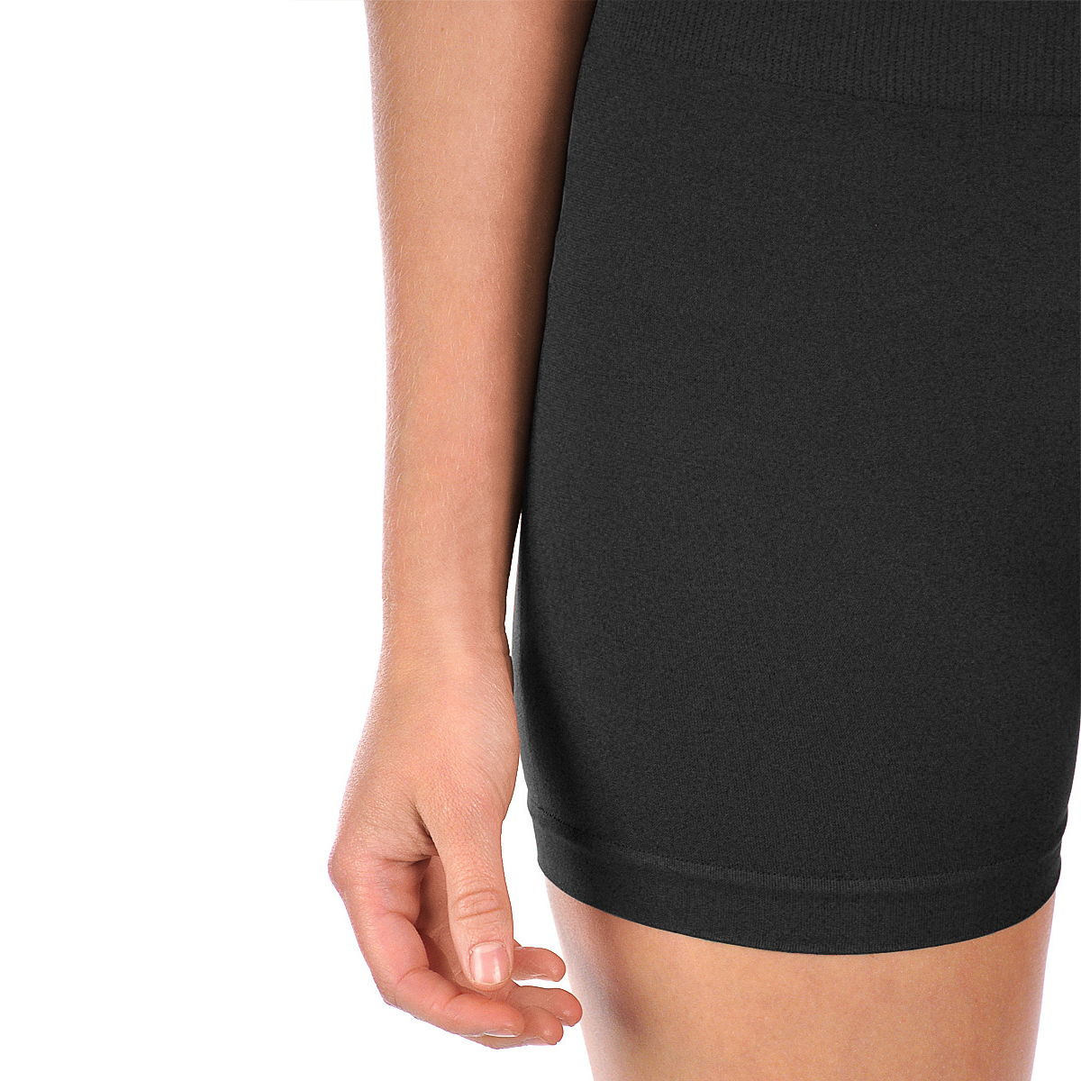 2pk Seamless Stretch Yoga Shorts Gym Run Bike Nylon