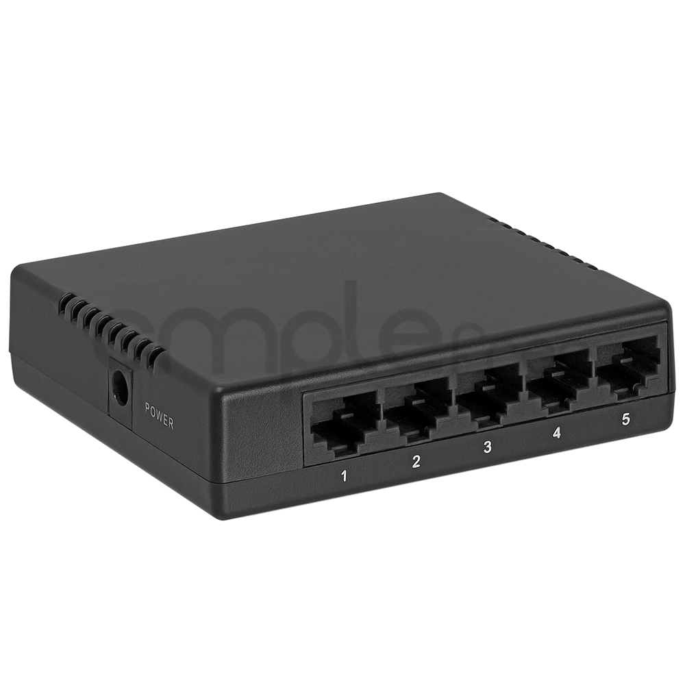 10 100mbps 5 port mini ethernet switch switcher desktop new usa ebay - Mini switch ethernet 3 ports ...