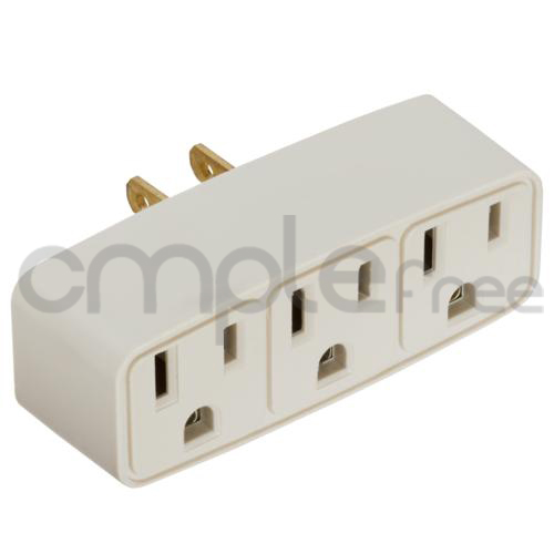 Three prong outlet