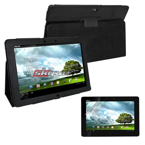 skque Leather Case+Screen protector For Asus Eee Pad Transformer Prime TF201 at Sears.com