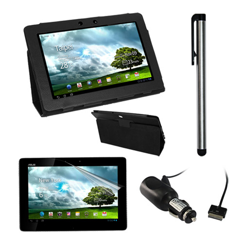 Leather Case Cover Stand for Asus Transformer Pad TF300 TF300T