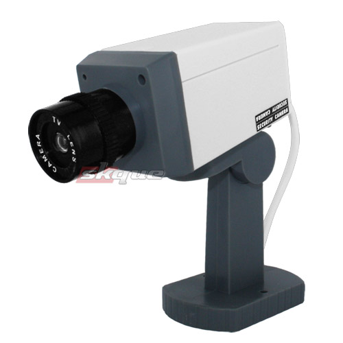 Outdoor Motion Sensor Security Lights Camera: Fake Dummy Security Camera With Motion Detector Led