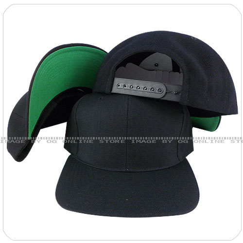 blank black snapback hats - photo #40