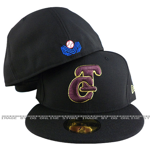 new era mexico Tomateros de Culiacan black purple gold outline fitted cap hat at Sears.com