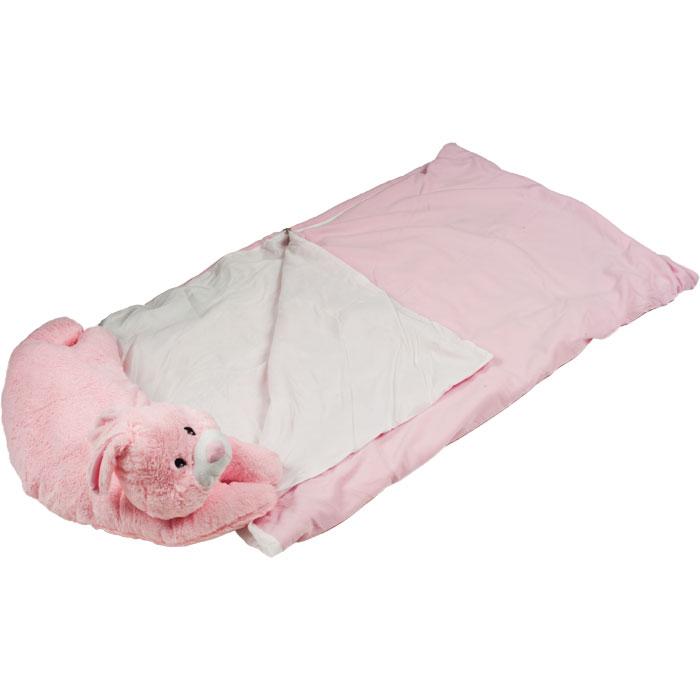 Happy Camper Sleeping Bag & Pet Pillow Combo for Kids ...