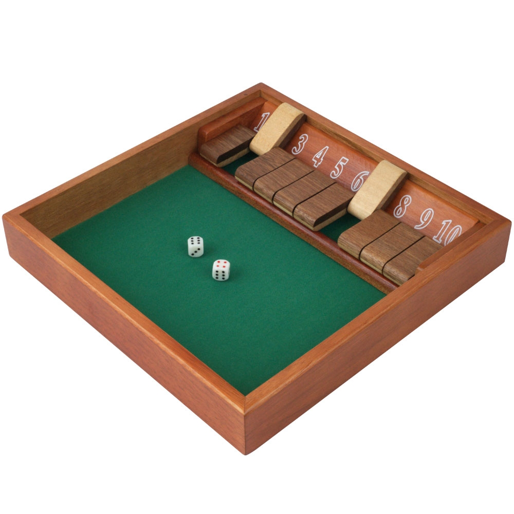 Shut The Box Dice Game New Years Party Game 10 Digit | eBay