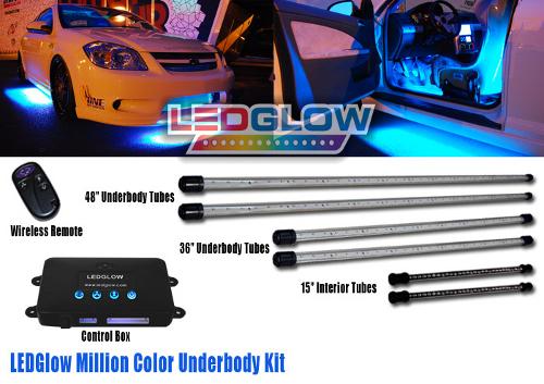 LU-M04 6 Piece Million Color Wireless UNDERBODY KIT