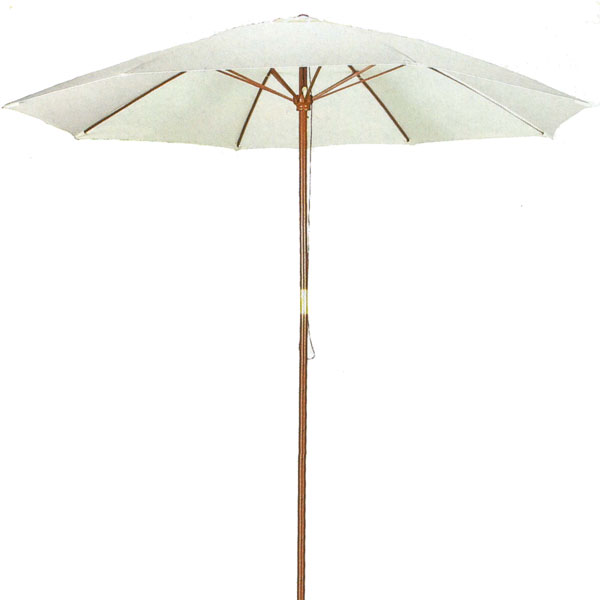PSW Market Umbrella 9' Natural Shade Patio Umbrella - Outdoor Wooden Market Umbrella at Sears.com
