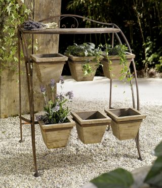 Pier Surplus Outdoor Metal Plant Stand - Plant Stand for Outdoor or Greenhouse, Two Tiers at Sears.com