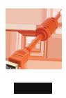 hdmi orange