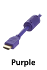 hdmi purple
