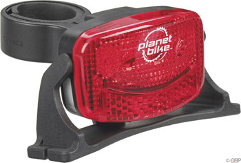 Planet Bike Blinky-3 helmet tail light, 3 red LED at Sears.com