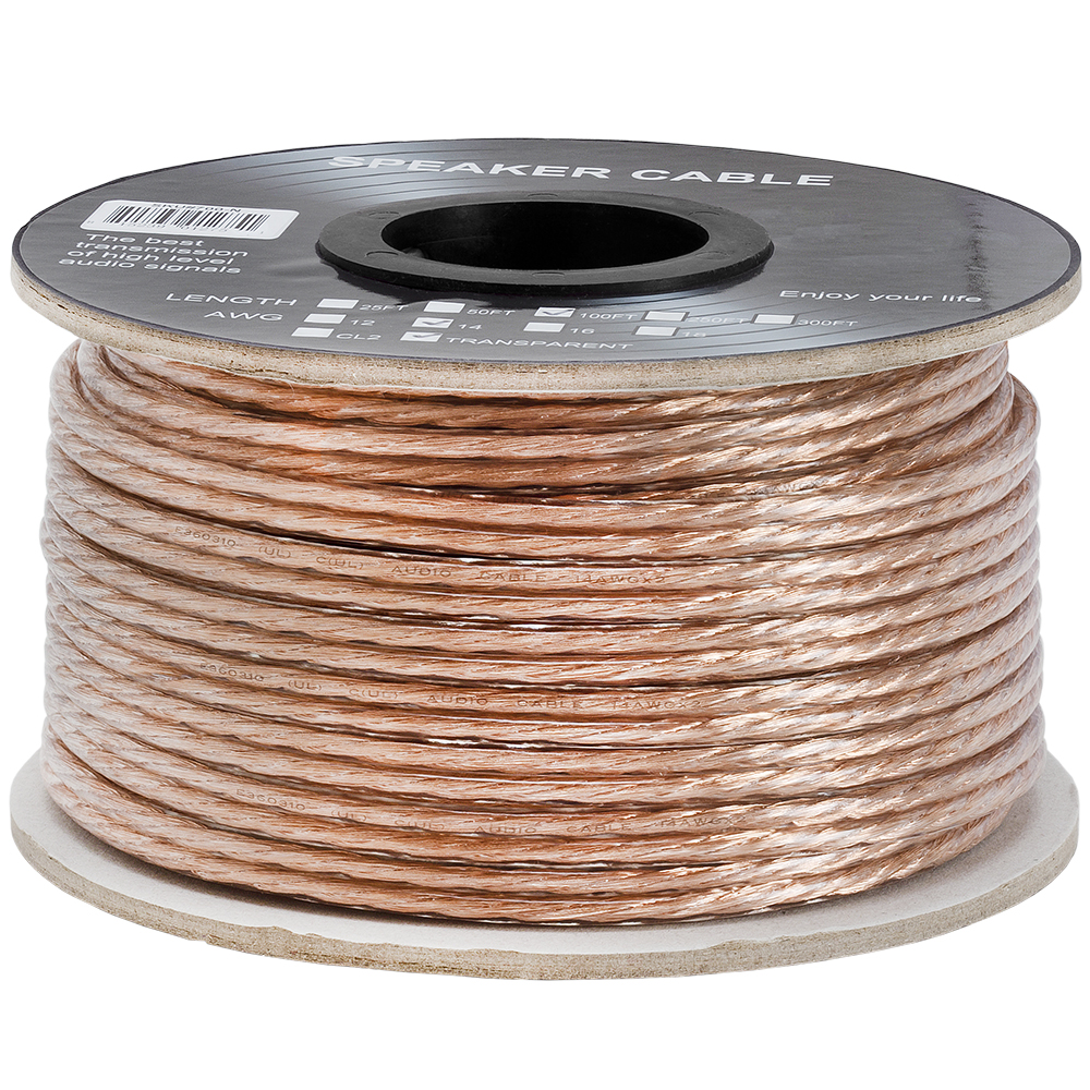 High Quality Speaker Wire : Speaker wire cable gauge high quality car home theater