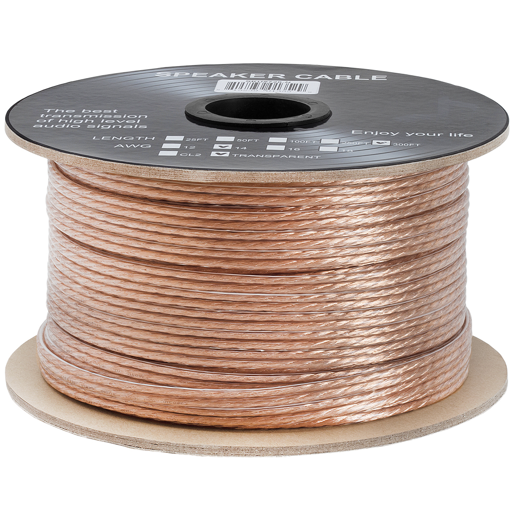 Speaker Wire Size : Speaker wire cable gauge high quality car home theater