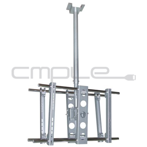 Double TV Wall Mount Ceiling 37 42 47 50 55 60 63 LCD LED Plasma Flat Sceen