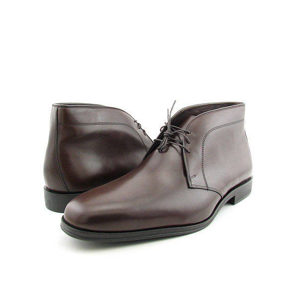 ALLEN EDMONDS Calhoun Boots Dress Shoes Brown Mens