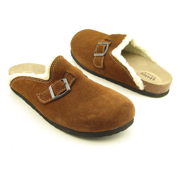 BEAVER CREEK Result Clogs Mules Shoes Brown Womens